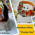 Bandeau + - 8 ans et adulte Pretty Cats