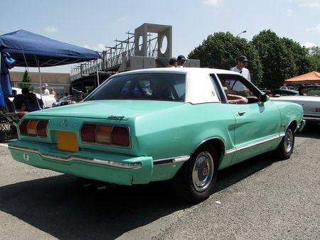 FORD Mustang II Ghia Coupe 1974 1978 Fun Car Show Illzach 2010 2