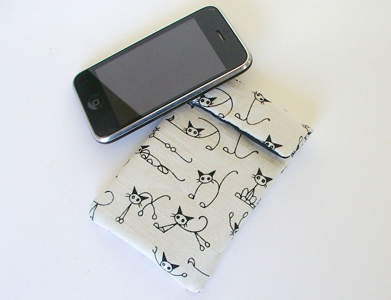 Etui portable, i phone chats