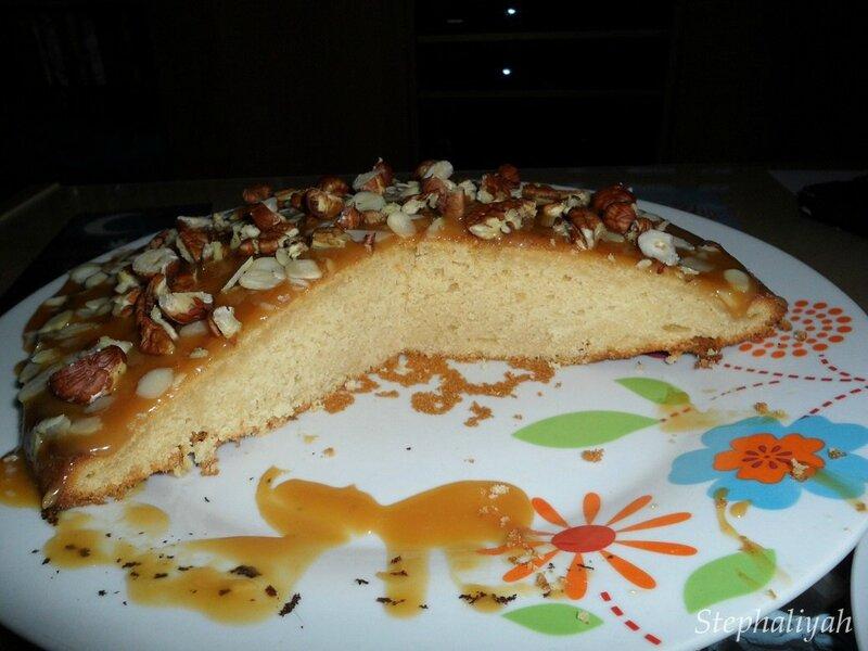 Gâteau caramel beurre salé -- 3