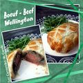Boeuf Wellington - beef wellington