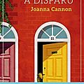 Mrs creasy a disparu de joanna cannon