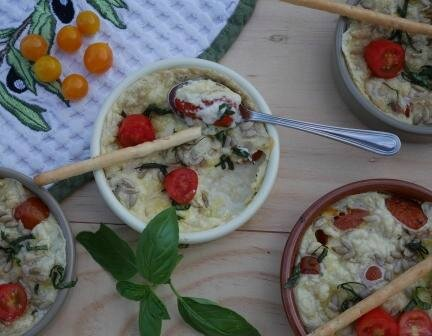 clafout tomates