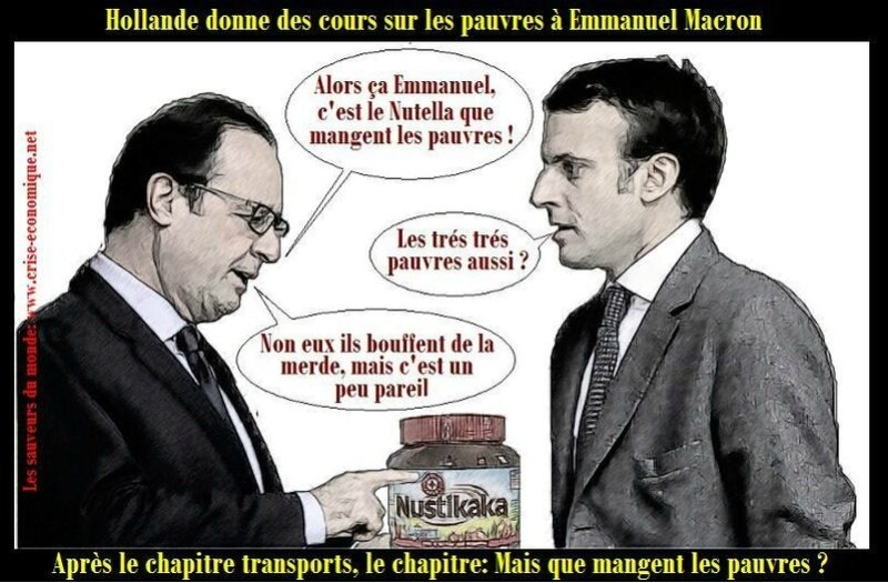 ps hollande macron humour pauvre sans dents