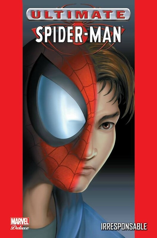 marvel deluxe ultimate spiderman 04 irresponsable réed