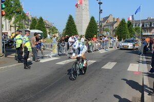 Tour de France 2013 Avranches place Patton