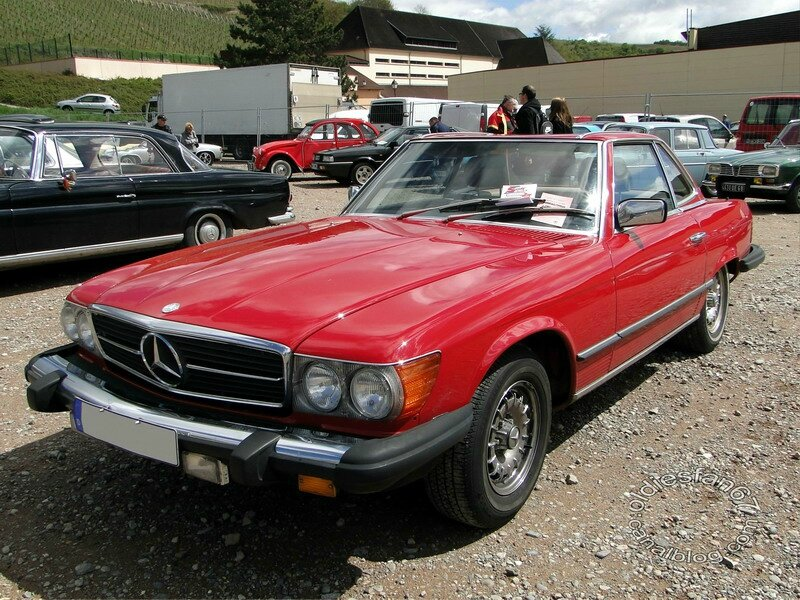 mercedes benz 380 sl cabriolet 1980 1986 oldiesfan67 mon blog auto. Black Bedroom Furniture Sets. Home Design Ideas