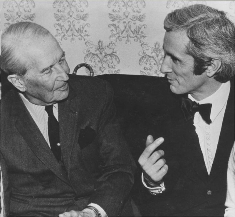 1970 MAURICE CHEVALIER A L'OLYMPIA