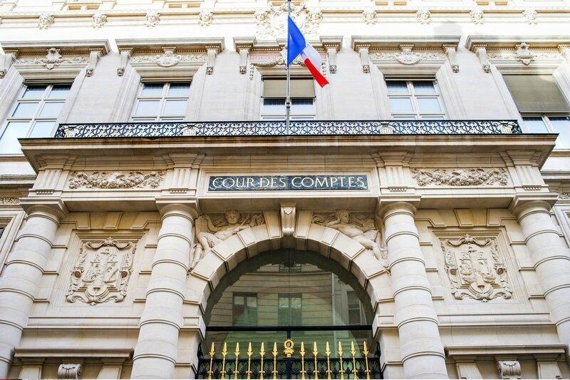 La cour des comptes palais Cambon Paris