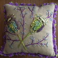 Coussin Pavots