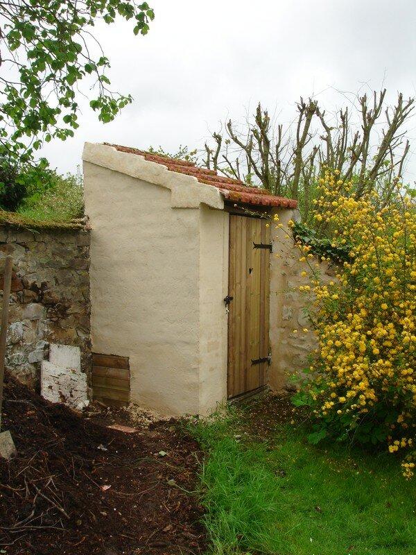 Wc exterieur nos travaux for Wc exterieur jardin