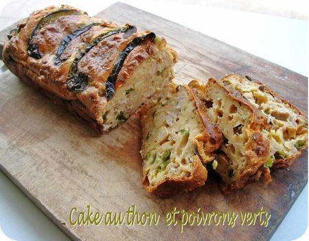 cake thon poivrons(scrap)