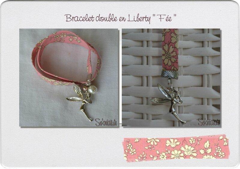 Bracelet double Fée