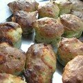Muffins courgettes-chvre et carottes-cumin