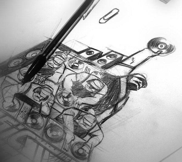 Croquis - Music Industry