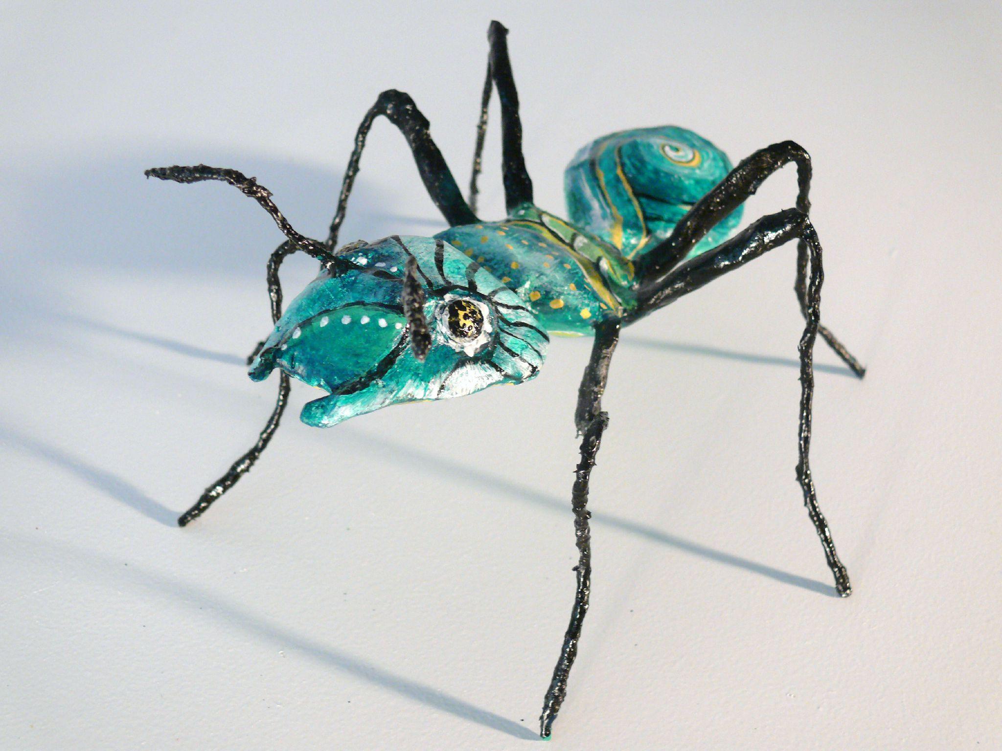 hormiga verde