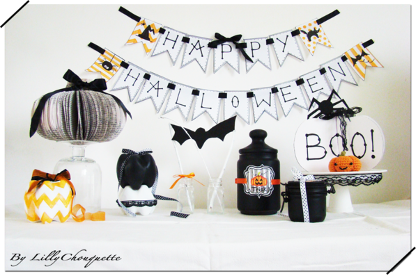 deco halloween fait maison. Black Bedroom Furniture Sets. Home Design Ideas