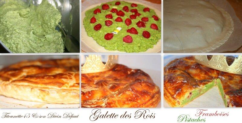 Galette pistaches framboises titounette45