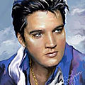 Portrait d'elvis