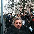Manifestation Blendi Blendon Ecole Branly