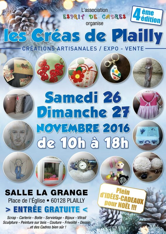 AFFICHE A3 Plailly 2016