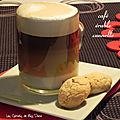 Café à l'érable et à la cannelle, sans gluten et sans lactose
