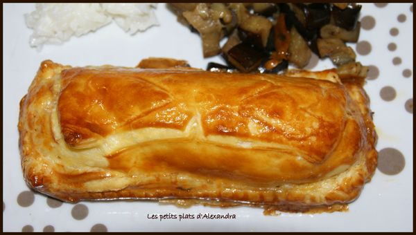feuilleté saumon tartare et creme