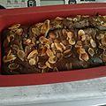 Cake marbré chocolat /pistache