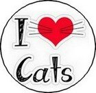 I love cats rond