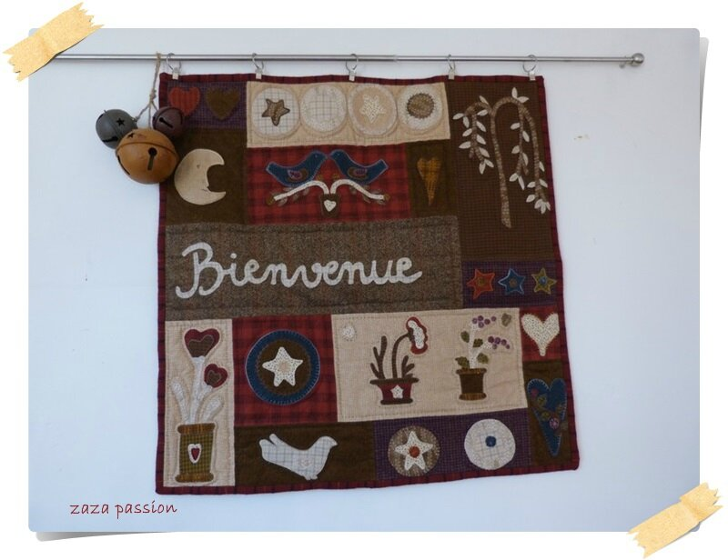 Bienvenue Folk Art 13-