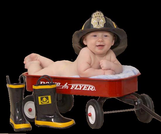 pompier-enfant