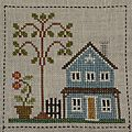 Orchard valley quilting bee, vii