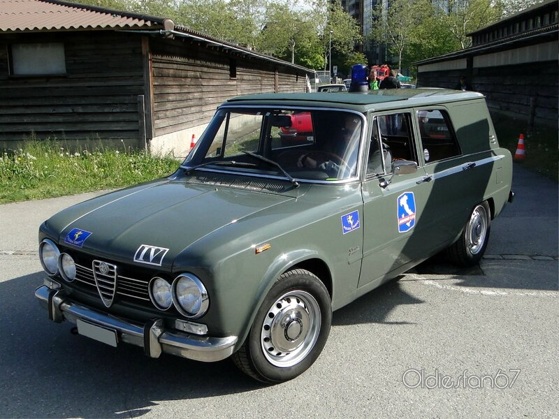 alfa romeo giulia super giardinetta grazia polizia 1968 1972 oldiesfan67 mon blog auto. Black Bedroom Furniture Sets. Home Design Ideas