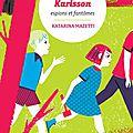 Les cousins karlsson 1 : espions et fantômes