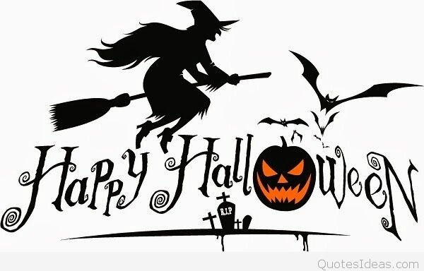 Happy-Halloween-saying-with-witches