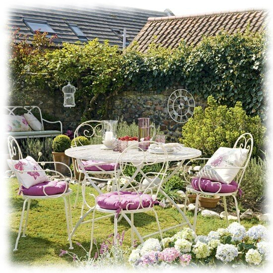 Cottage et jardin shabby chic astr or for Decoration cottage maison