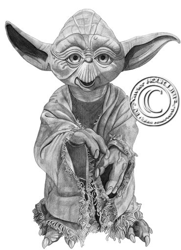 YODA_by_xavier_hourlier