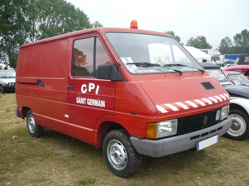 RENAULT Trafic T800 Centre de Première Intervention Pompiers Madine (1)