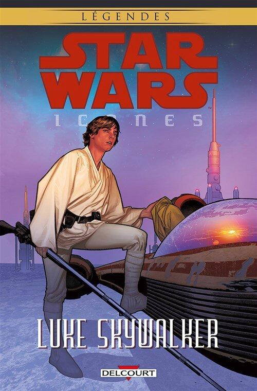 légendes star wars icones 3 luke skywalker