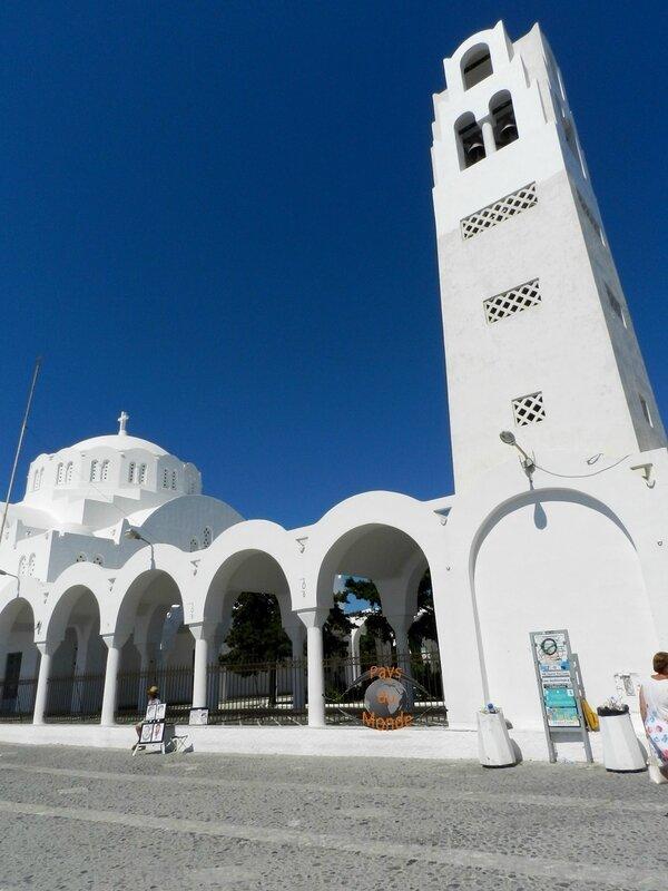 Cathèdrale de Santorin