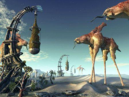 14 - Monde giraffe