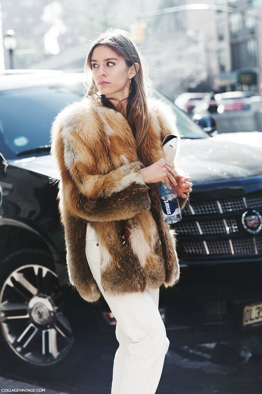 New_York_Fashion_Week-Fall_Winter_2015-Street_Style-NYFW-Fur_Coat