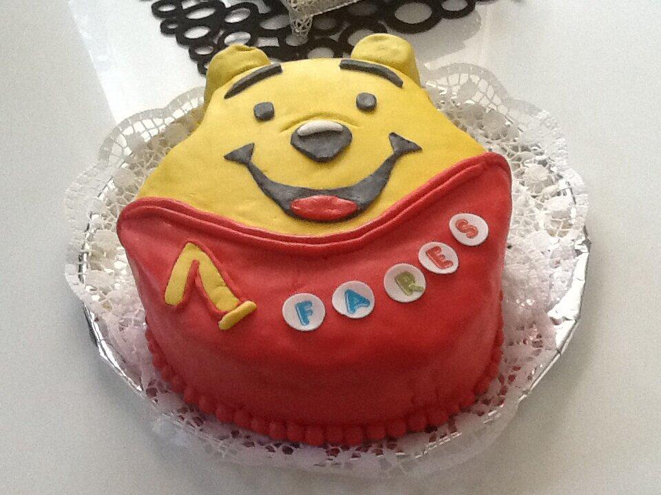 Connu Gâteau anniversaire Winnie l'ourson - Aux délices de Mina EG09