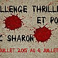 Challenge thrillers et polars 2016