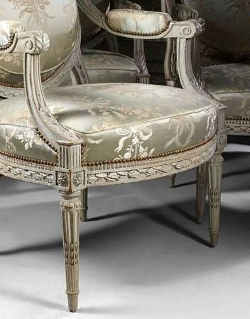 Mobilier de salon poque louis xvi eloge de l 39 art par for Salon louis 16