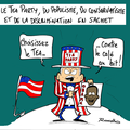 Elections amricaines,Dmocrates, Rpublicains,Barack Obama, Tea Party et grain en sachet