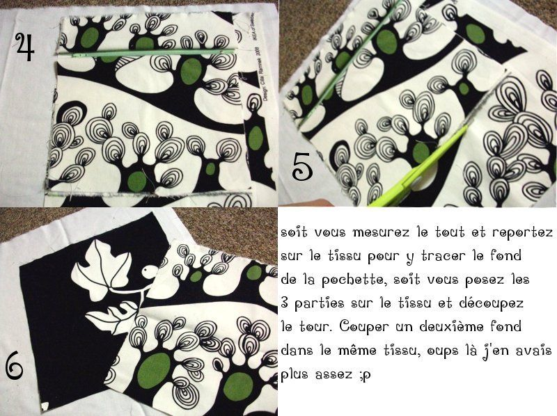 Pochette toute simple et vite faite ikea 39 s fabric addict for Entree vite faite simple