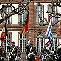 Strasbourg, le retour de la task force lafayette vi et de l'eurocorps