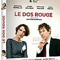 Concours le dos rouge : 5 dvd à gagner!!