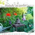 Balade au jardin de Carreco